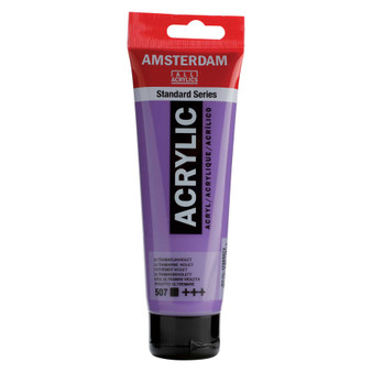 Amsterdam Acrylic 120ml Tube Ultramarine Violet