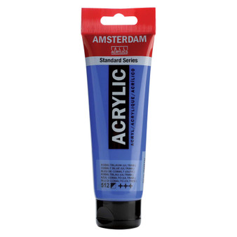 Amsterdam Acrylic 120ml Tube Cobalt Blue Ultra