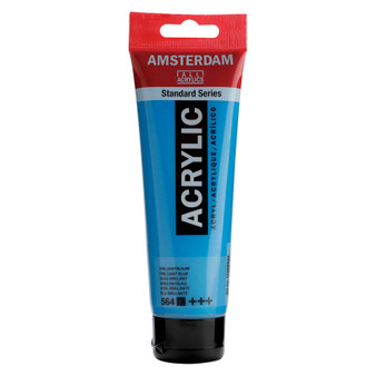 Amsterdam Acrylic 120ml Tube Brilliant Blue