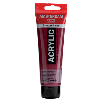 Amsterdam Acrylic 120ml Tube Permanent Red Violet