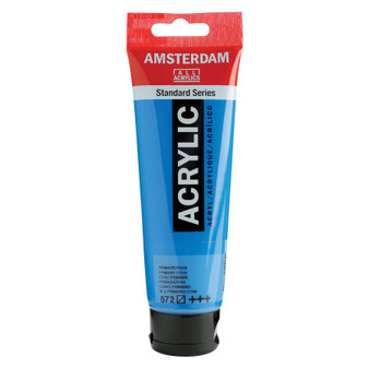 Amsterdam Acrylic 120ml Tube Primary Cyan