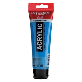 Amsterdam Acrylic 120ml Tube Manganese Blue Phthalo