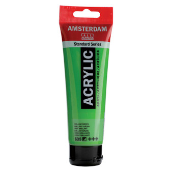 Amsterdam Acrylic 120ml Tube Brilliant Green