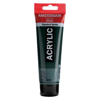 Amsterdam Acrylic 120ml Tube Sap Green