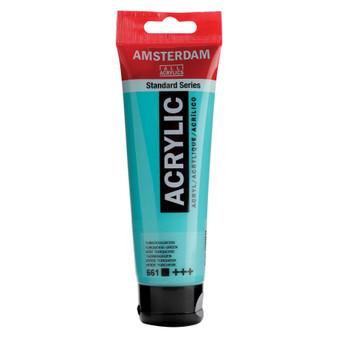 Amsterdam Acrylic 120ml Tube Turquoise Green