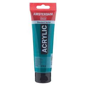 Amsterdam Acrylic 120ml Tube Phthalo Green