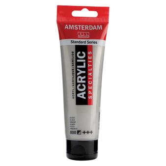 Amsterdam Acrylic 120ml Tube Metallic Silver