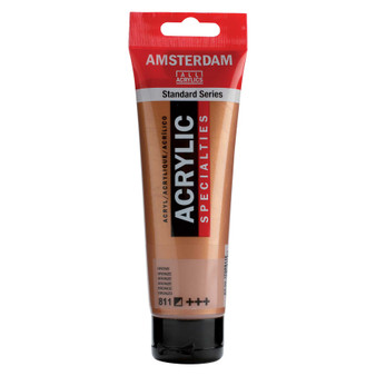 Amsterdam Acrylic 120ml Tube Metallic Bronze