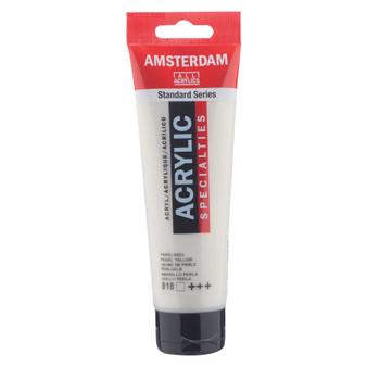 Amsterdam Acrylic 120ml Tube Pearl Yellow