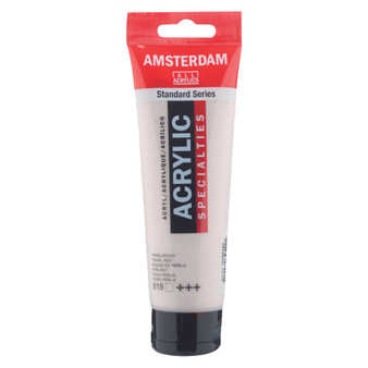 Amsterdam Acrylic 120ml Tube Pearl Red