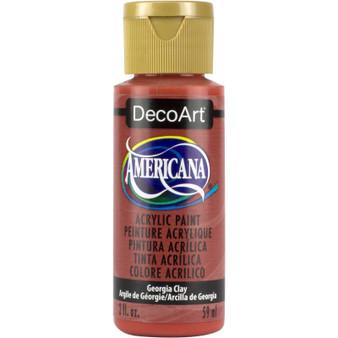 DecoArt Americana Acrylic 2oz Georgia Clay