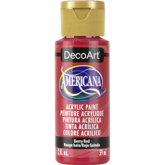 DecoArt Americana Acrylic 2oz Berry Red
