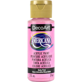 DecoArt Americana Acrylic 2oz Baby Pink