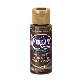 DecoArt Americana Acrylic 2oz Dark Chocolate