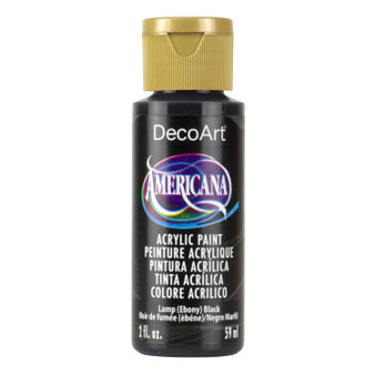 DecoArt Americana Acrylic 2oz Ebony Black
