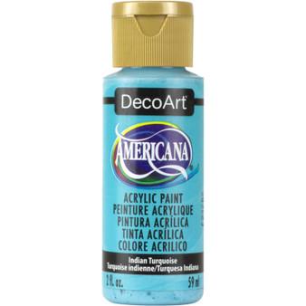 DecoArt Americana Acrylic 2oz Indian Turquoise