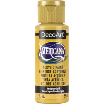 DecoArt Americana Acrylic 2oz Antique Gold