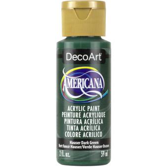 DecoArt Americana Acrylic 2oz Hauser Dark Green