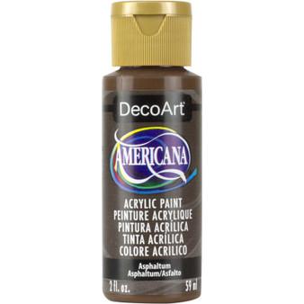 DecoArt Americana Acrylic 2oz Asphaltum