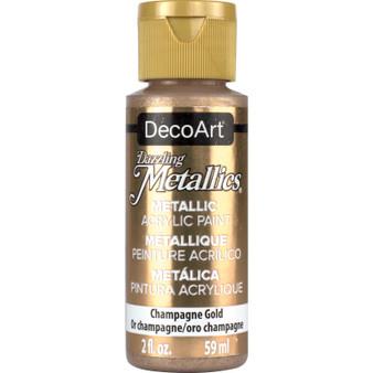 DecoArt Americana Acrylic 2oz Metallic Champagne Gold