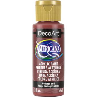 DecoArt Americana Acrylic 2oz Heritage Brick
