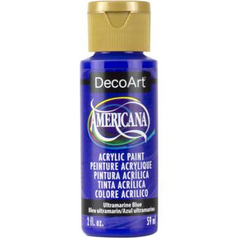 DecoArt Americana Acrylic 2oz Ultramarine Blue