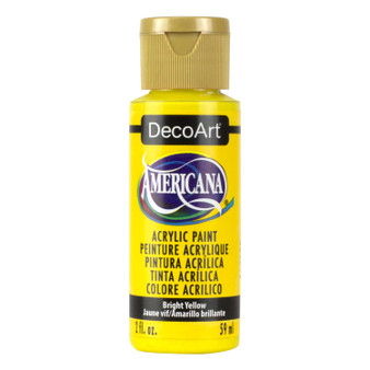 DecoArt Americana Acrylic 2oz Bright Yellow