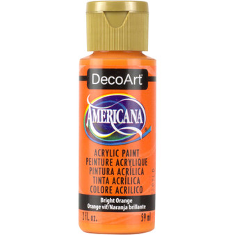 DecoArt Americana Acrylic 2oz Bright Orange