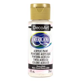 DecoArt Americana Acrylic 2oz Warm White