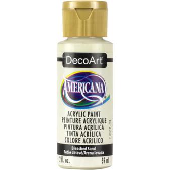 DecoArt Americana Acrylic 2oz Bleached Sand