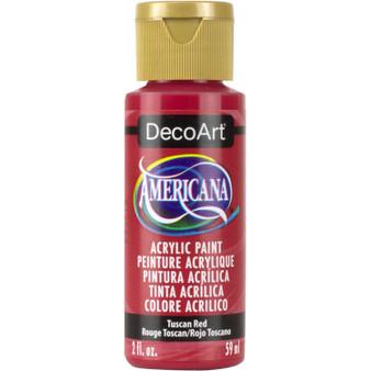 DecoArt Americana Acrylic 2oz Tuscan Red