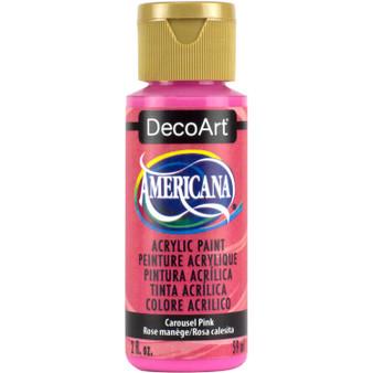 DecoArt Americana Acrylic 2oz Carousel Pink