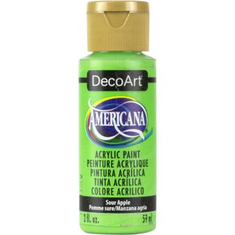 DecoArt Americana Acrylic 2oz Sour Apple