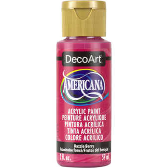 DecoArt Americana Acrylic 2oz Razzle Berry