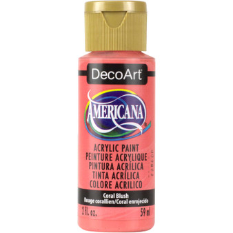 DecoArt Americana Acrylic 2oz Coral Blush