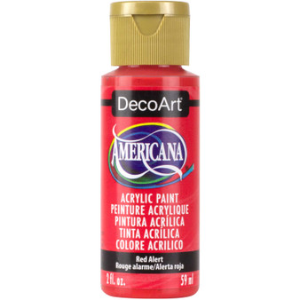 DecoArt Americana Acrylic 2oz Red Alert