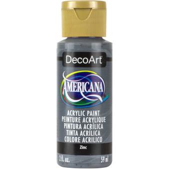 DecoArt Americana Acrylic 2oz Zinc
