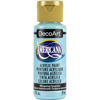 DecoArt Americana Acrylic 2oz Whispering Turquoise