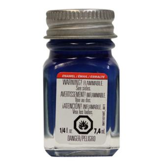Testors Enamel Paint .25oz Dark Blue