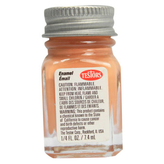 Testors Enamel Paint .25oz Flat Light Tan