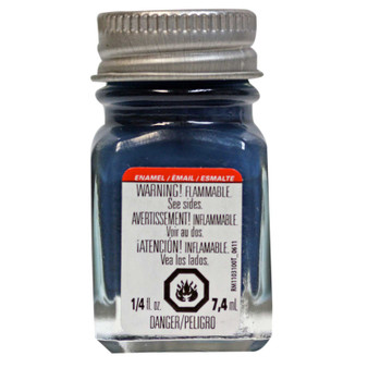 Testors Enamel Paint .25oz Flat Sea Blue