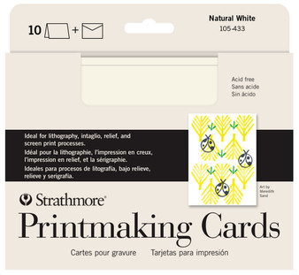 Strathmore Printmaking Cards 5x7 10 Pack