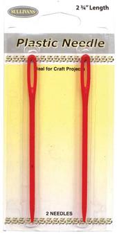 Sullivans Plastic Needles 2 Pack Size #2