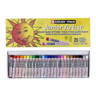 Sakura Cray-Pas Junior Artist Oil Pastels 25 Set