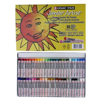 Sakura Cray-Pas Junior Artist Oil Pastels 50 Set