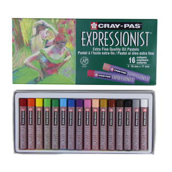Sakura Cray-Pas Expressionist Oil Pastels Set of 16