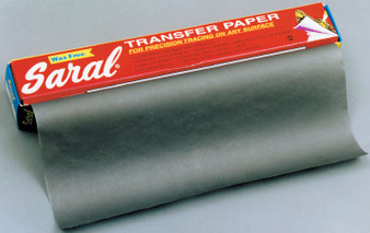 "Saral Graphite Black Transfer Paper 12""x 12 ft. Roll"