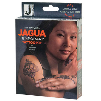 Jacquard Jagua All Natural Temporary Tattoo Kit