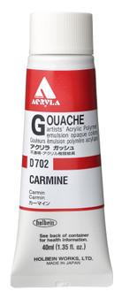 Holbein Acryla Gouache 40ml Carmine