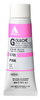 Holbein Acryla Gouache 40ml Pink